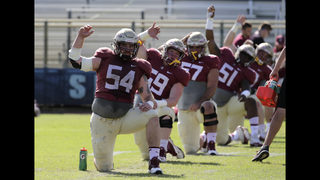 Florida State center Eberle at full strength after surgery