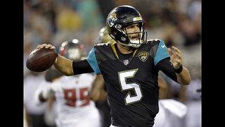 Bye, bye Bortles? Jaguars open up quarterback competition