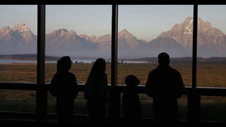 Grand Teton park to escape Yellowstone