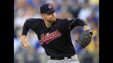 Kluber leaves start early as Indians romp past Royals, 10-1