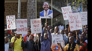 Kenya opposition files challenge against presidential vote