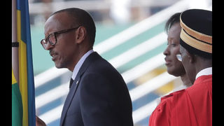 Rwanda leader Kagame inaugurated; won nearly 99 pct of vote