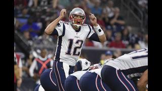Brady has TD in preseason debut as Pats fall to Texans 27-23