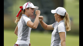 US extends Solheim Cup lead over Europe to 5 points