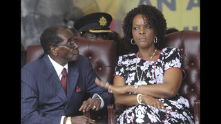 Grace Mugabe returns to Zimbabwe despite assault claim