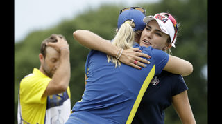 US beats Europe in Solheim Cup 16 1/2-11 1/2 in Iowa