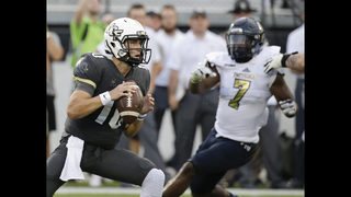 UCF blows out FIU in opener, 61-17