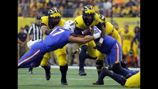 Learn about careers at Cox Media Group. & No. 11 Michigan gets kicks in 33-17 win over No. 17 Florida | WSB-TV