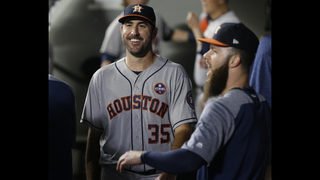 New guys Verlander, Maybin lift Astros over Mariners 3-1