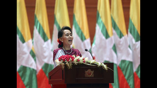 Under fire over Rohingya, Suu Kyi defends Myanmar actions
