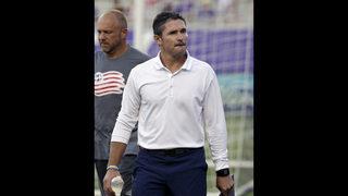 New England Revolution fire head coach Jay Heaps