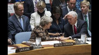 Pence applauds UN resolution on peacekeeping reform