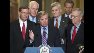 The Latest: Cassidy promotes bill meant to replace Obamacare