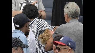 Girl hit by foul ball at Yankees game gets game