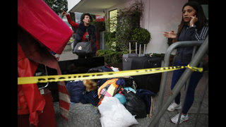 Mexicans displaced by deadly quake seek refuge from fear