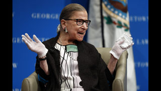 Justice Ginsburg surprise speaker at Jewish new year service