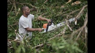 Dam failing as scope of Puerto Rico