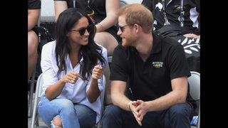 Prince Harry, Meghan Markle together at official event