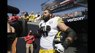 Steelers tackle Villanueva: mix up led to anthem flap