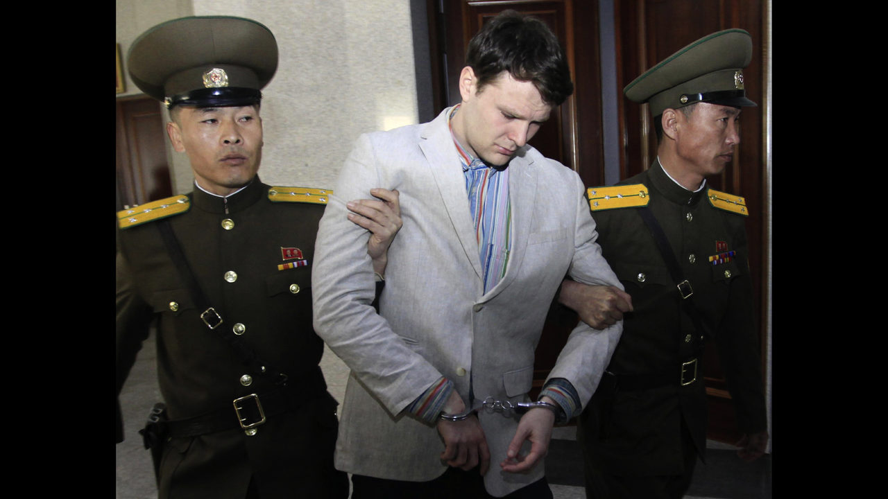 Otto Warmbier the University of Virginia student who was detained in North Korea for nearly a year and a half died Monday afternoon days after he