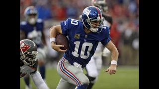 Folk redeems himself with 34-yard FG to beat Giants 25-23