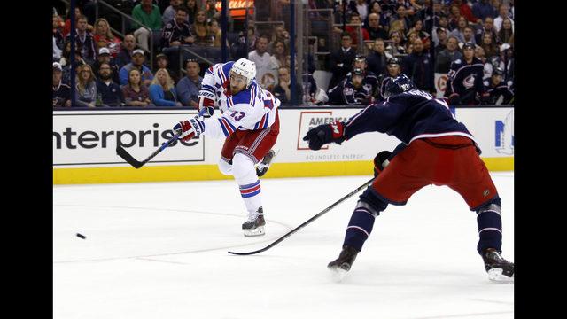 Panarin, Blue Jackets rally to beat Rangers 3-1 | Boston 25 News