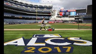 LEADING OFF: Dodgers seek sweep; Yanks try to solve Keuchel