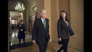 Senate moves ahead on GOP budget that