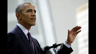 Obama tells Democrats to reject politics of division, fear