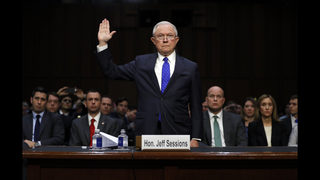 The Latest: Sessions won