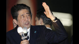 Polls indicate Japanese PM Abe headed for easy victory