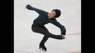 Chen holds on to win Rostelecom gold