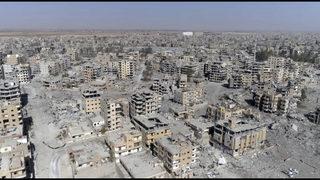 After Raqqa, Trump says US shifts to
