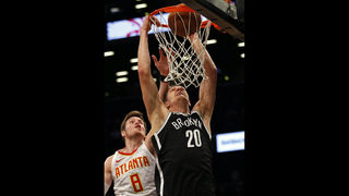 Allen Crabbe scored 20 points, Nets beat Hawks 116-104