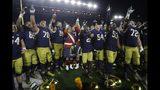 AP Top 25: Notre Dame cracks top 10; Michigan drops out