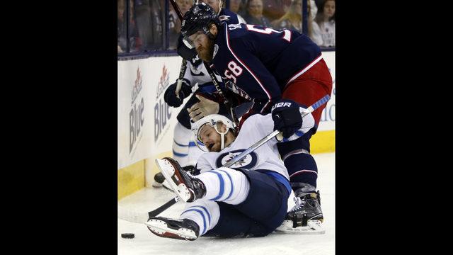 Blue Jackets rally to beat Winnipeg 2-1 in overtime | Boston 25 News