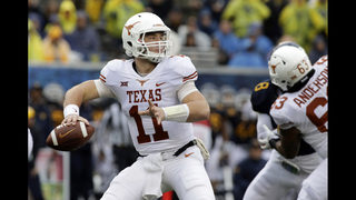 Ehlinger leads Texas over No. 24 WVU 28-14; Grier hurt