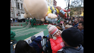 Balloons, Broadway stars and security at Macy