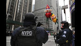 In terror-wary NYC, security tight for Thanksgiving parade