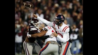 Mississippi stuns No. 16 Mississippi State 31-28 in Egg Bowl