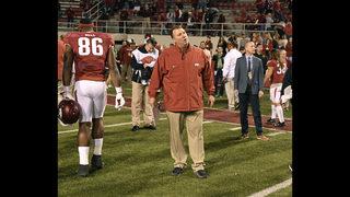 Arkansas fires Bielema moments following Missouri loss