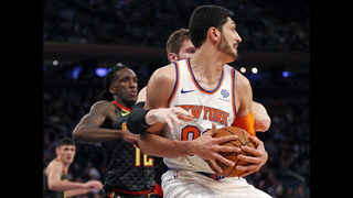 Porzingis scores 30, Knicks hold off Hawks for 111-107 win