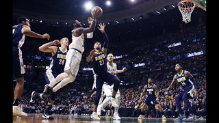 Irving, Brown lead the way against the Nuggets