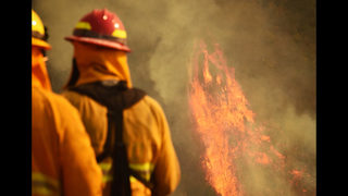 Firefighter fatality reported at huge California wildfire