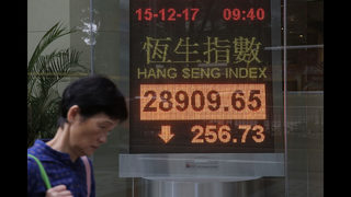 Asian, European stocks fall as markets await US tax deal