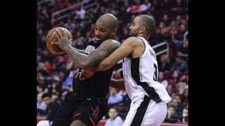 Paul, Rockets rout Spurs 124-109 for 12th straight victory