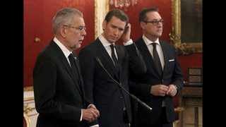 New Austrian government pledges pro-EU approach, more police