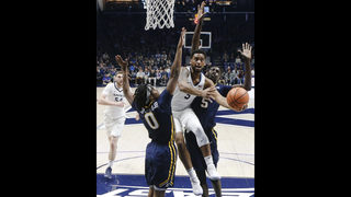 Down by 22, No. 10 Xavier rallies for 68-66 win over ETSU