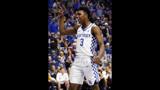 Knox, Diallo lead No. 8 Kentucky past Virginia Tech 93-86