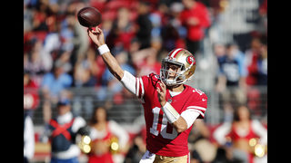 Jimmy Time! Garoppolo leads 49ers to third straight win